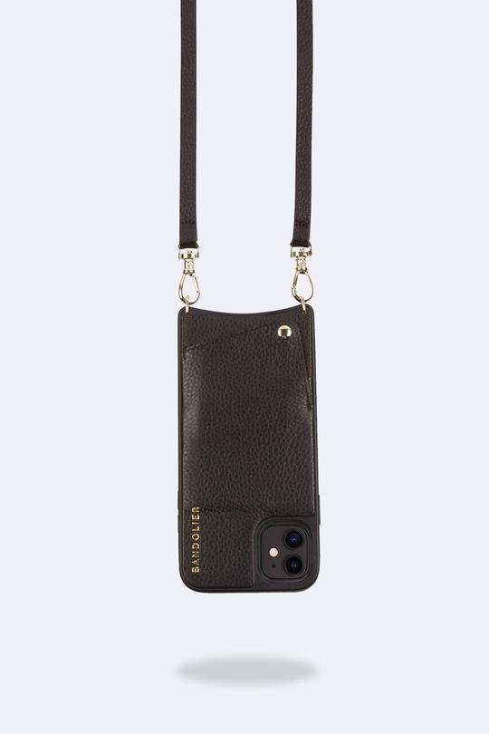 Emma Crossbody black/ gold Iphone 6/7/8